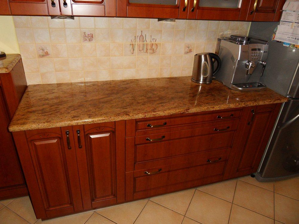 Küchenarbeitsplatte aus Granit