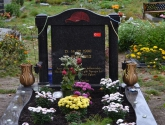 muslimischer Grabstein