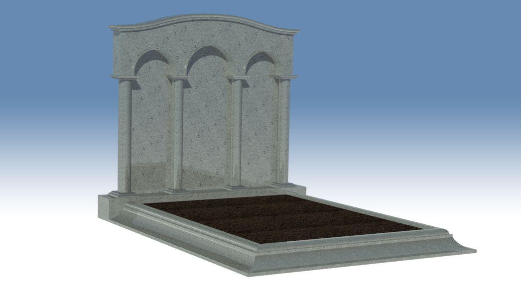 3D-Design Familiengrab
