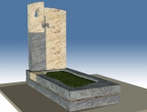 Einzelgrab Grabgestaltung
